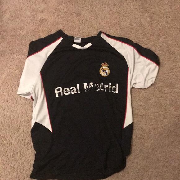 new arrival b3098 7bca9 Real Madrid training kit, black